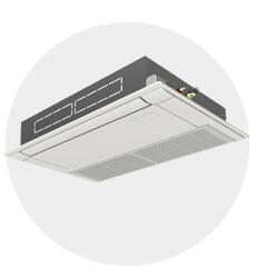 天カセ形1方向パッケージエアコン(業務用エアコン)